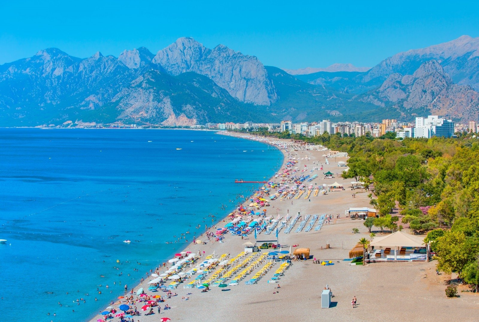 Playas de Alanya, playa Konyaalti