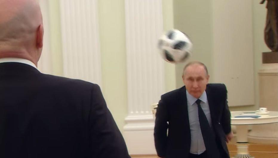 Борис Джонсон Путин использует ЧМ-2018 как Гитлер Олимпиаду