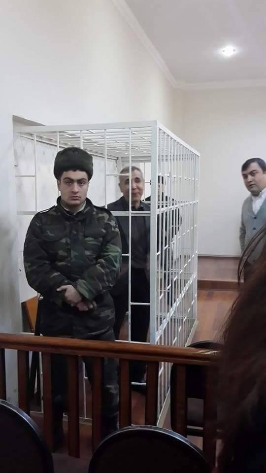 Žmogaus teisių advokatas Intigamas Aliyevas, Ferqane Novruzova nuotr.