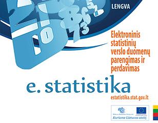 <span>Elektroninis statistinių verslo duomenų parengimas ir perdavimas</span>Projekto vykdytojas: Lietuvos statistikos departamentas