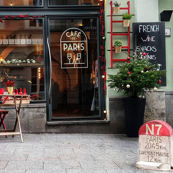 Café de Paris, Didžioji g. 1