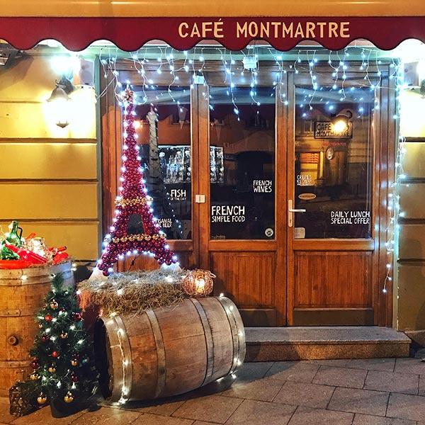 Café Montmartre,  Didžioji g. 40